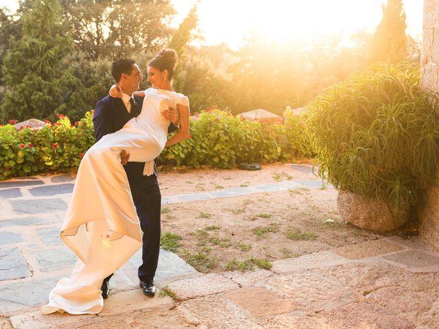 La boda de Ismael y Cristina en San Vicente De Alcantara, Badajoz 17