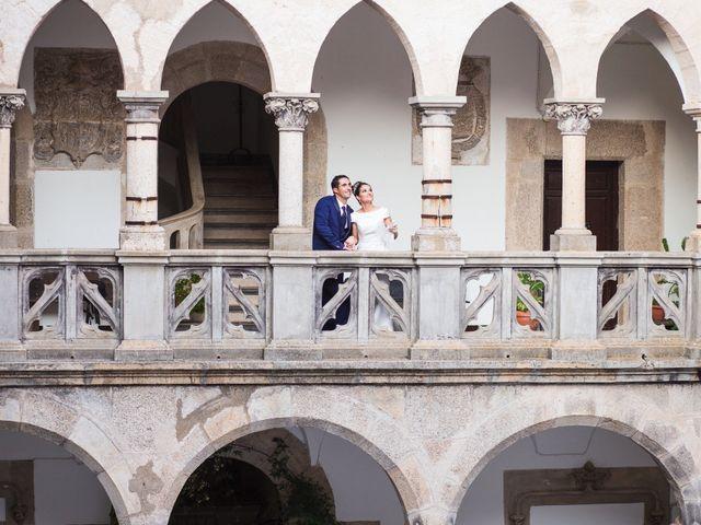 La boda de Ismael y Cristina en San Vicente De Alcantara, Badajoz 19