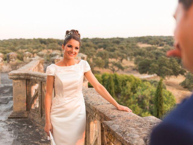 La boda de Ismael y Cristina en San Vicente De Alcantara, Badajoz 23