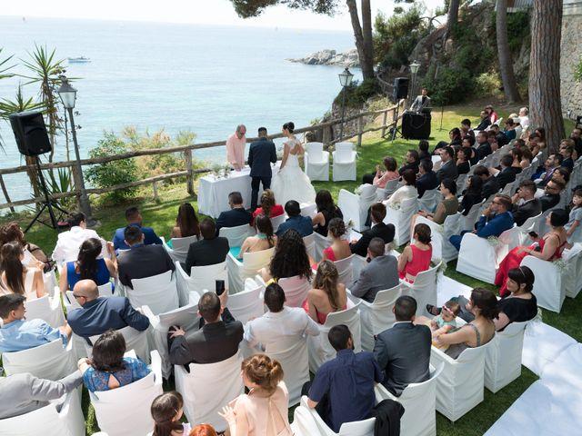 La boda de Jonatan y Priscila en Platja D'aro, Girona 5