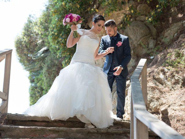 La boda de Jonatan y Priscila en Platja D'aro, Girona 6