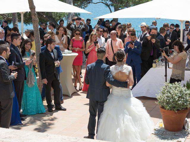 La boda de Jonatan y Priscila en Platja D'aro, Girona 11