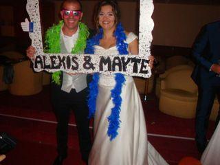 La boda de Mayte  y Alexis  1