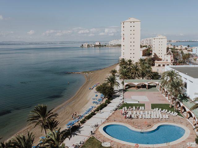 La boda de Jeffrey y Lina en La Manga Del Mar Menor, Murcia 2
