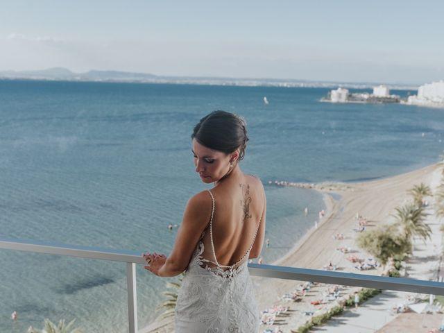 La boda de Jeffrey y Lina en La Manga Del Mar Menor, Murcia 12