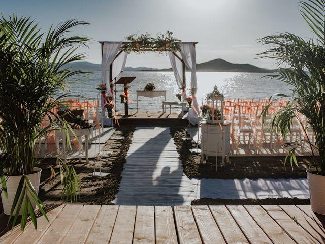 La boda de Jeffrey y Lina en La Manga Del Mar Menor, Murcia 13