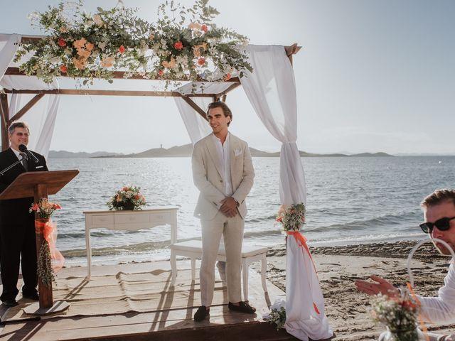 La boda de Jeffrey y Lina en La Manga Del Mar Menor, Murcia 14