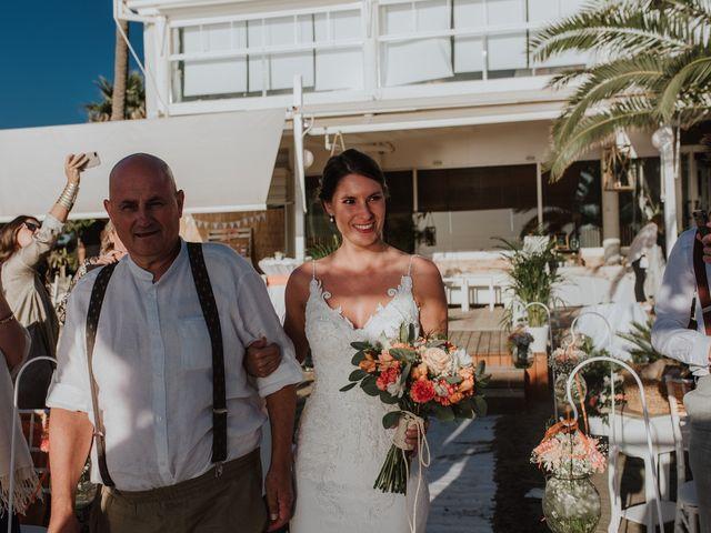 La boda de Jeffrey y Lina en La Manga Del Mar Menor, Murcia 15