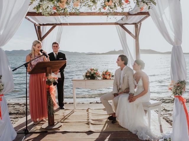 La boda de Jeffrey y Lina en La Manga Del Mar Menor, Murcia 18
