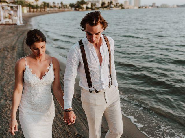 La boda de Jeffrey y Lina en La Manga Del Mar Menor, Murcia 1