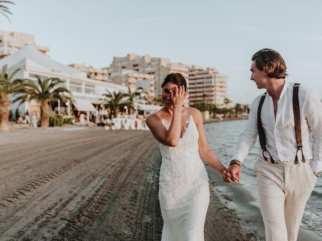 La boda de Jeffrey y Lina en La Manga Del Mar Menor, Murcia 24