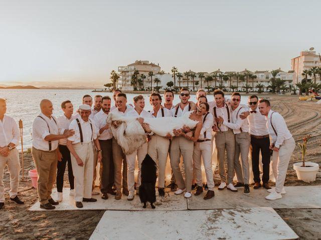 La boda de Jeffrey y Lina en La Manga Del Mar Menor, Murcia 27