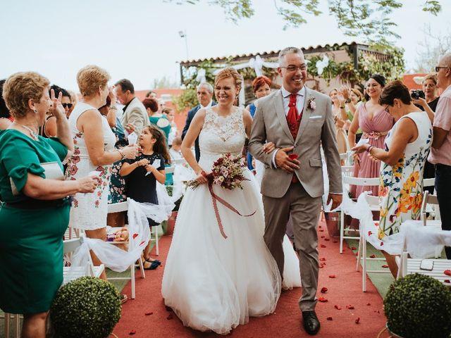 La boda de Juan Jorge  y Nereida  en Ingenio, Las Palmas 1