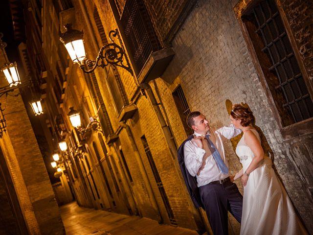 La boda de David y Estela en Zaragoza, Zaragoza 10