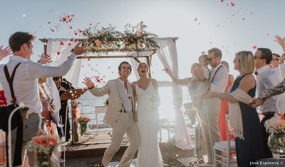 La boda de Jeffrey y Lina en La Manga Del Mar Menor, Murcia