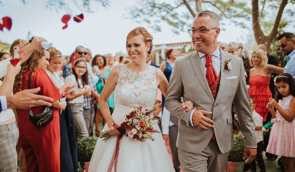 La boda de Juan Jorge  y Nereida  en Ingenio, Las Palmas