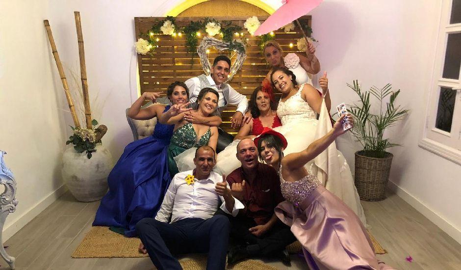 La boda de Cristo y Lorena en La Florida (San Bartolome De Lanzarote), Las Palmas