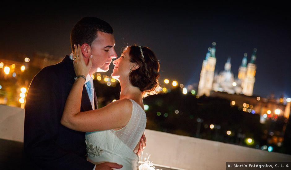 La boda de David y Estela en Zaragoza, Zaragoza