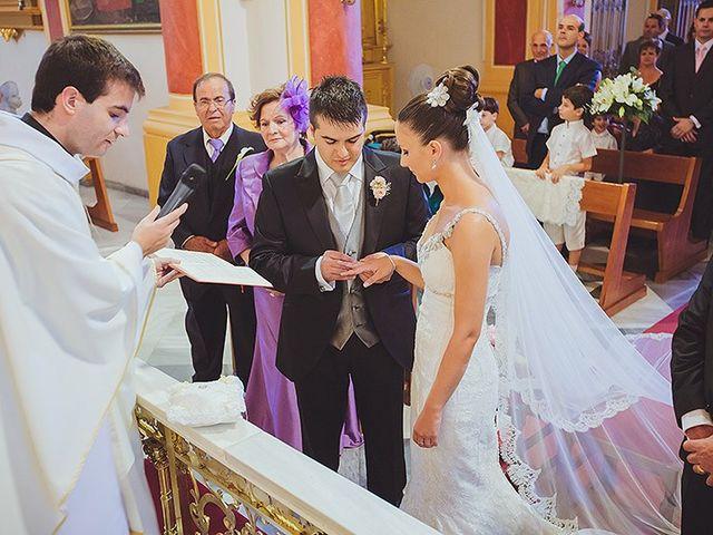 La boda de Loli y Rodrigo en Librilla, Murcia 17