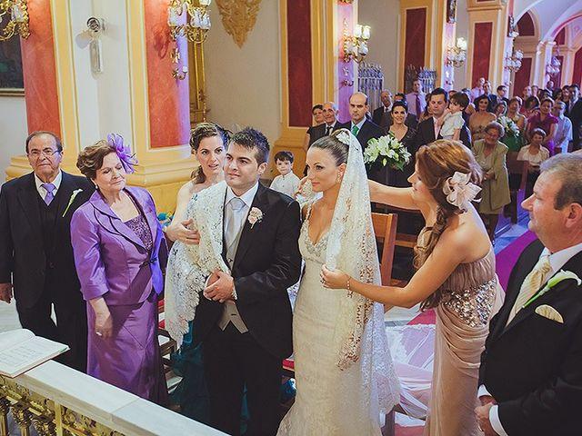La boda de Loli y Rodrigo en Librilla, Murcia 18