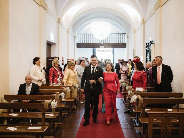 La boda de Jesús y María en Villarrubia De Los Ojos, Ciudad Real 34