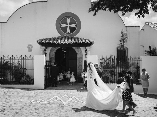 La boda de Jesús y María en Villarrubia De Los Ojos, Ciudad Real 1