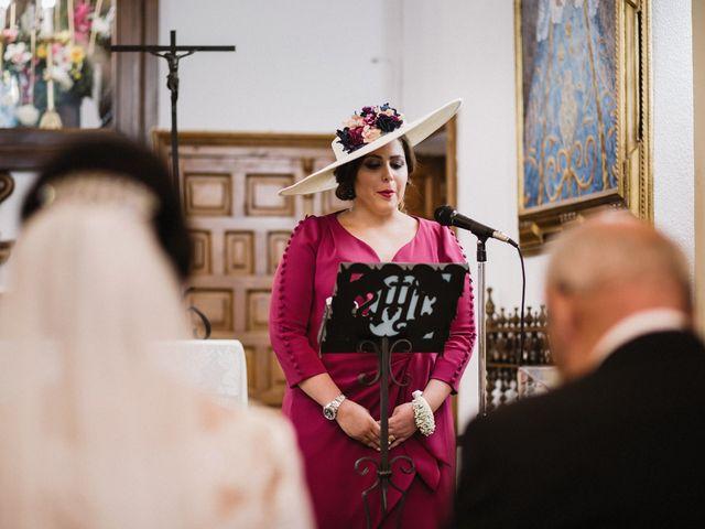 La boda de Jesús y María en Villarrubia De Los Ojos, Ciudad Real 40