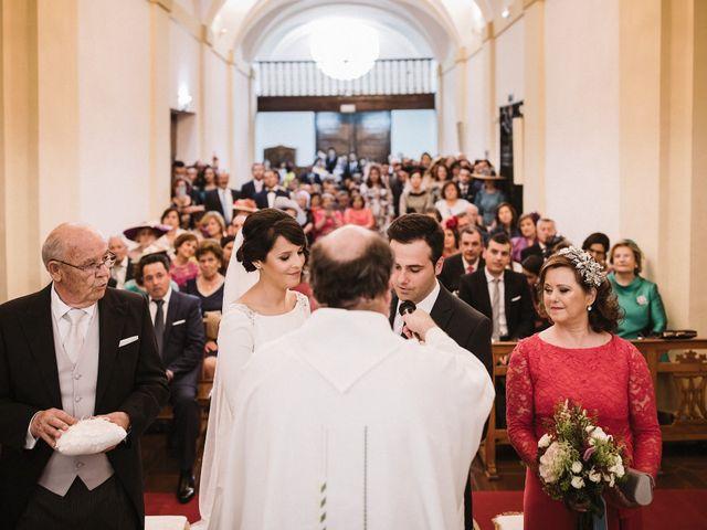 La boda de Jesús y María en Villarrubia De Los Ojos, Ciudad Real 41