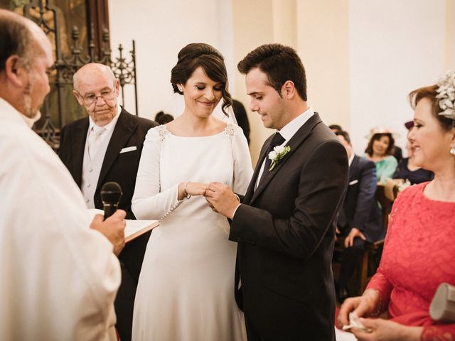 La boda de Jesús y María en Villarrubia De Los Ojos, Ciudad Real 45