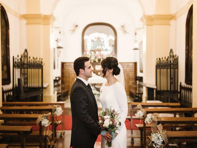 La boda de Jesús y María en Villarrubia De Los Ojos, Ciudad Real 49
