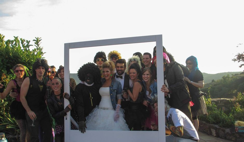 La boda de Felipe y Rebecca en Canalda, Lleida