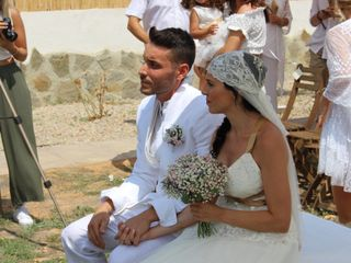 La boda de Noelia y Norber