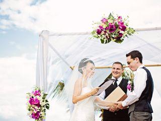 La boda de Znenyan y Simon