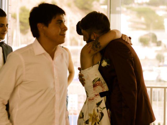 La boda de Elena y Santi en Castelldefels, Barcelona 10