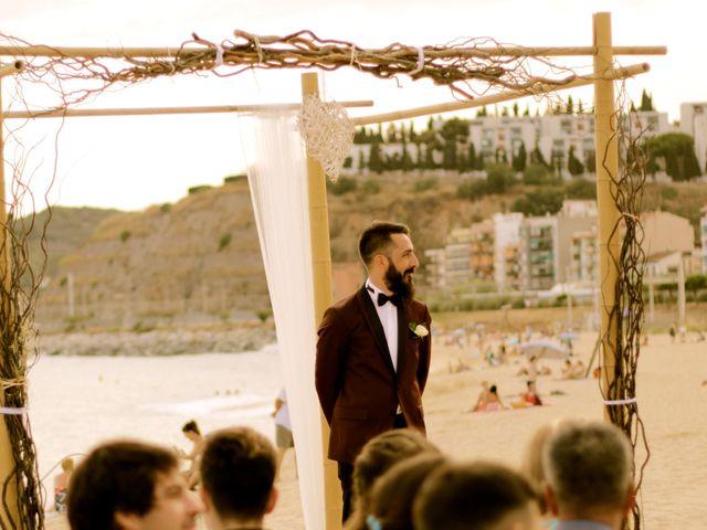 La boda de Elena y Santi en Castelldefels, Barcelona 31