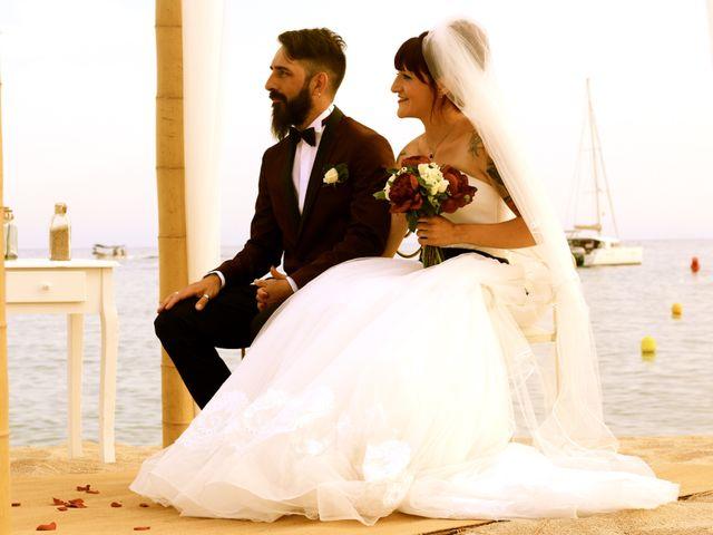 La boda de Elena y Santi en Castelldefels, Barcelona 37