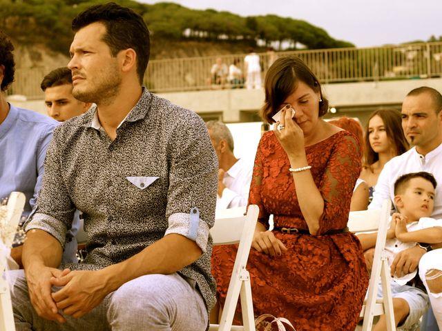 La boda de Elena y Santi en Castelldefels, Barcelona 39