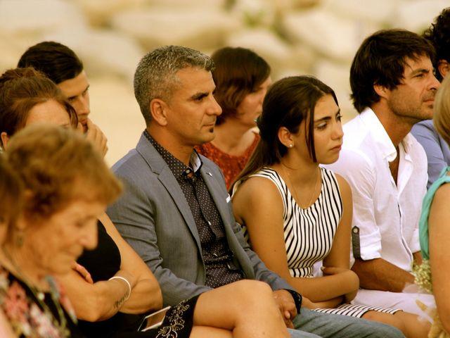 La boda de Elena y Santi en Castelldefels, Barcelona 43