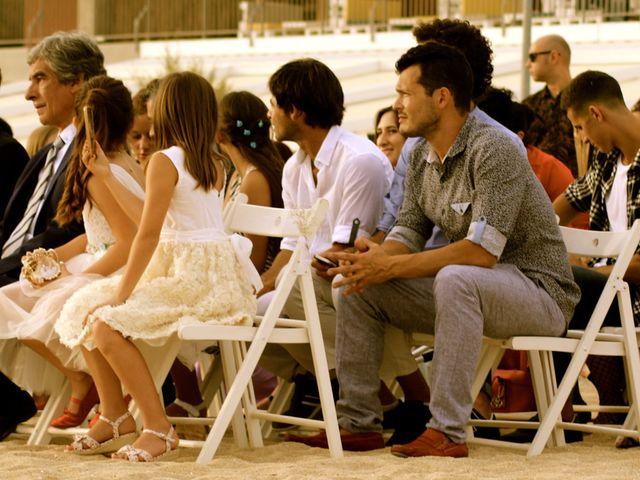 La boda de Elena y Santi en Castelldefels, Barcelona 45
