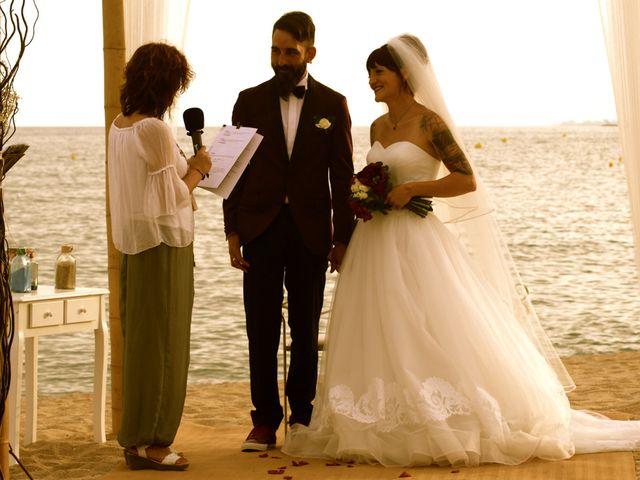 La boda de Elena y Santi en Castelldefels, Barcelona 46