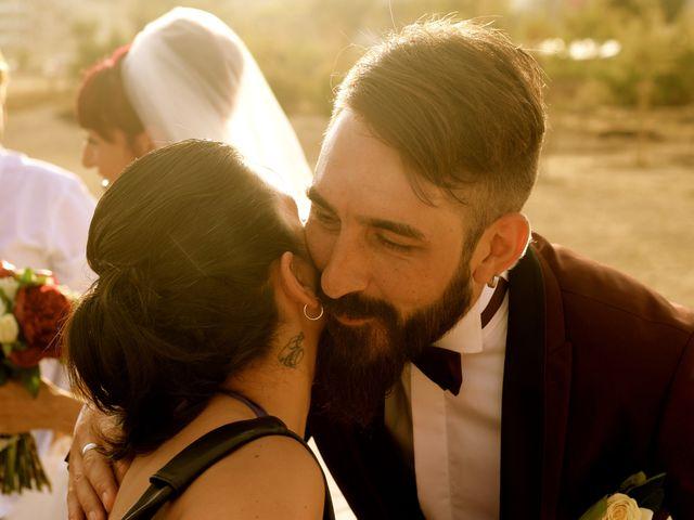 La boda de Elena y Santi en Castelldefels, Barcelona 64