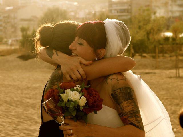 La boda de Elena y Santi en Castelldefels, Barcelona 65