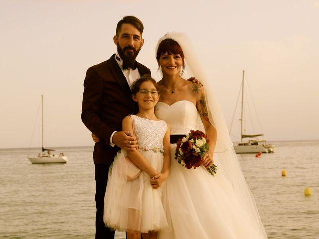 La boda de Elena y Santi en Castelldefels, Barcelona 75