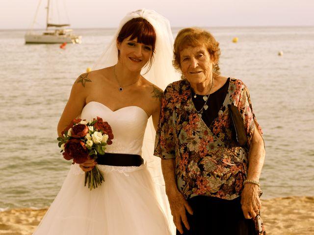 La boda de Elena y Santi en Castelldefels, Barcelona 78