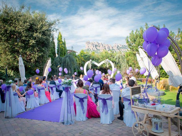 La boda de Cristian y Ariana en El Bruc, Barcelona 14