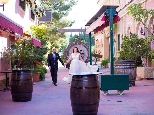 La boda de Victor y Vicky en Beniajan, Murcia 37
