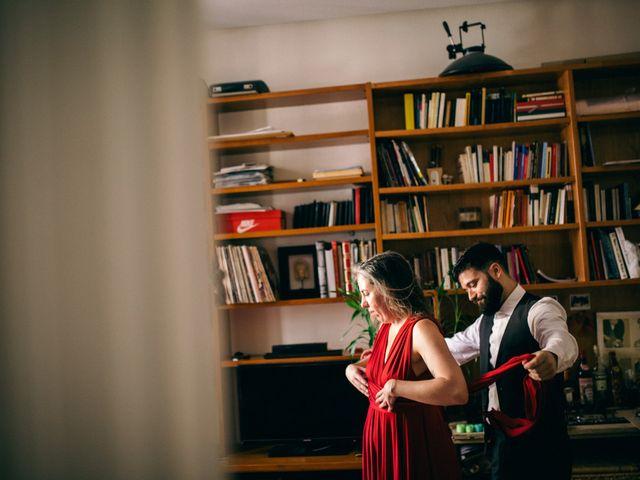 La boda de Leandro y Ainhoa en Madrid, Madrid 1