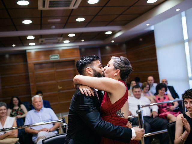 La boda de Leandro y Ainhoa en Madrid, Madrid 72