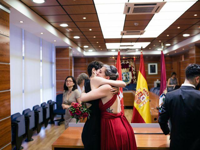 La boda de Leandro y Ainhoa en Madrid, Madrid 75