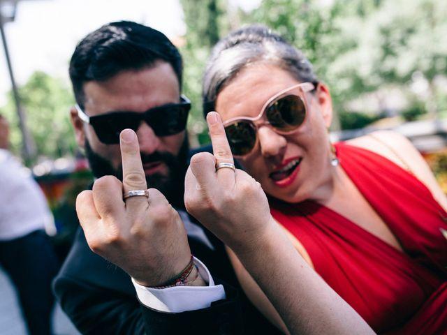 La boda de Leandro y Ainhoa en Madrid, Madrid 78